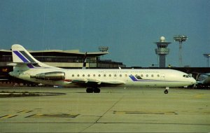 Air Enterprise International SE-210 Super Caravelle 10B3 Orly Airport Paris F...