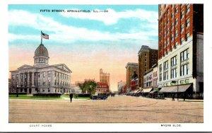 Illinois Springfield Fifth Street