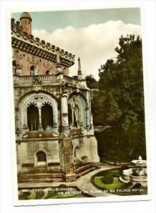 RP  Portugal - Bussaco  Um Detalhe da Floreira do Palace Hotel, 40-50s