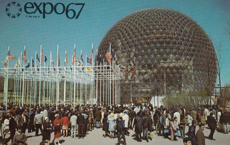 MONTREAL , Quebec, Canada, EXPO67 ; Pavilion of the United States