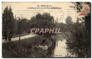 Paris (14) Old Postcard the Harvester and Montsouris