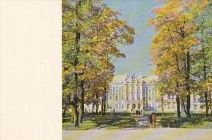 Catherine's Palace Pushkin St Petersburg Russia