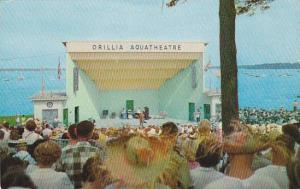 Orillia Aqua Theatre, Orrillia, Ontario, Canada, PU-40-60s