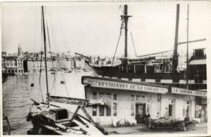 CPA MARSEILLE - Real Photo Restaurant de la Cascade Le Port (2247)