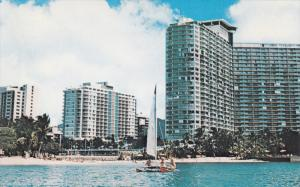 ILIKAI Hotel , Waikiki Beach , Hawaii , 50-60s