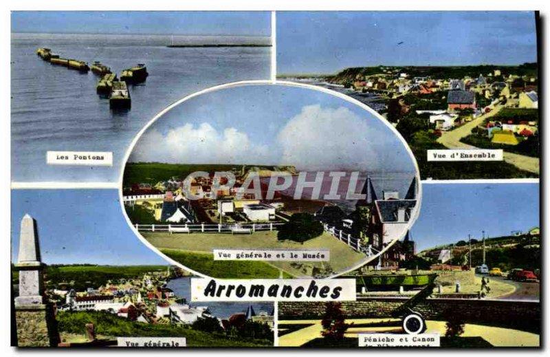 Modern Postcard Arromanches