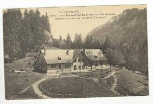 Aerial,Maison Forestierre du Col de la Charmette,Dauphine,France 1900-10s