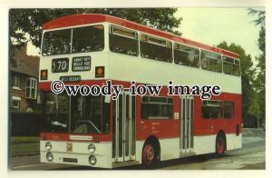 tm5536 - Manchester City Transport Bus no 1001 - postcard