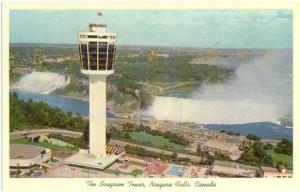 The Seagram Tower Niagara Falls Ontario ON, Canada, Chrome