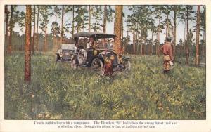 Flanders 20 Old Auto Car Advertising Antique Postcard J68143