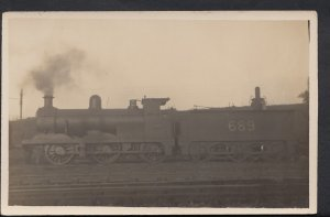Transport Postcard - Trains - Locomotive No 689 - DC646