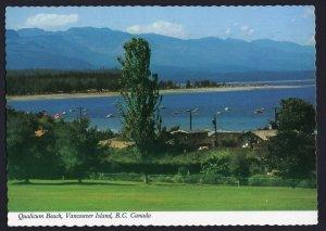 British Columbia ~ View of Qualicum Beach VANCOUVER ISLAND - Cont'l 1980s-1990s