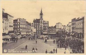 Belgium Charleroi Place Albert ler un jour de Bourse