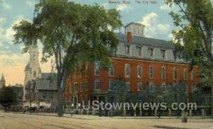 The City Hall Beverly MA 1910