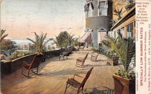 11521  CA San Diego 1904  Portico of Hotel Robinson , low summer rates