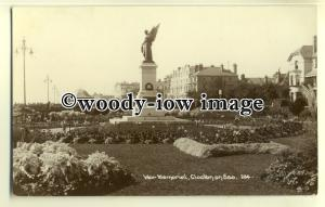 tp0637 - Essex - The War Memorial in the Gardens, at Clacton-on-Sea - Postcard