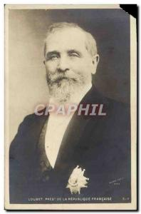Old Postcard Loubet President of the French Republic