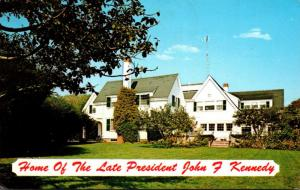 Massachusetts Cape Cod Hyannisport Home Of The Late President John F Kennedy ...