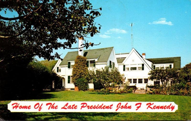 Massachusetts Cape Cod Hyannisport Home Of The Late President John F Kennedy ...