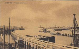 Belgium Oostende Vue du nouveau port 1908