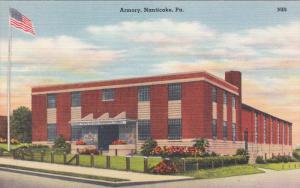 NANTICOKE, Pennsylvania, 1930-1940's; Armory