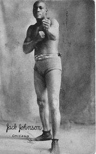 Jack Johnson Chicago Boxing Unused
