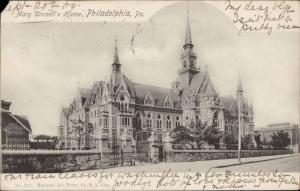 Mary Drexell's Home Philadelphia Pennsylvania
