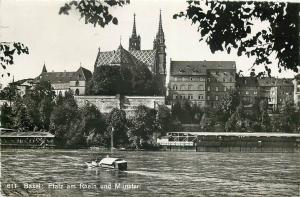 Switzerland Suisse Basel Pfalz am Rhein und Munster