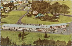 Eden Rock Motor Hotel Fredericton NB New Brunswick Unused Vintage Postcard E15