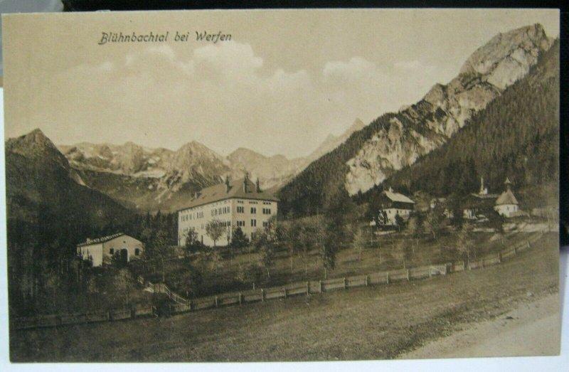 Austria Bluhnbachtal bei Werfen - - unposted