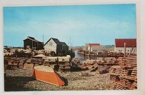 Vintage Postcard:Sandford, Yarmouth County, Nova Scotia