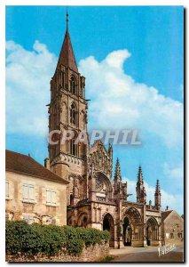 Postcard Modern Wonders of the Holy Father on Yonne Vezelay Yonne Church