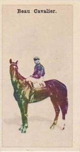 Wills Vintage Cigarette Card New Zealand Race Horses 1928 No 33 Beau Cavalier