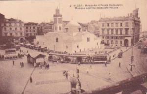 Algeria Alger Mosquee et Palace Consulaire