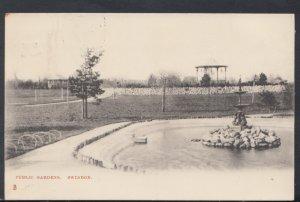 Wiltshire Postcard - Public Gardens, Swindon   DC2507