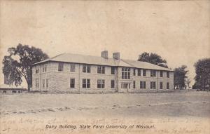 Dairy Building , State Farm University of  Missouri , Columbia , Mo. PU-1908