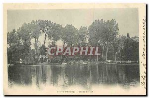Postcard Old Casino of Enghien shores of Lake