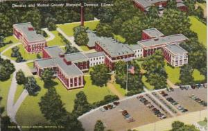 Illinois Decatur Decatur and Macon County Hospital Curteich