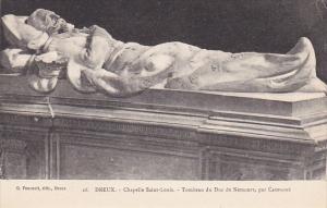 France Dreux Chapelle Saint-Louis Tombeau du Duc de Nemours