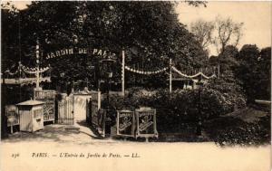CPA PARIS (8e) Entrée du Jardin de Paris (534614)