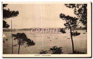 Old Postcard Dinard View aur Rade