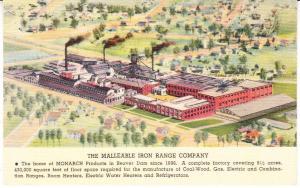 Malleable Iron Range - Beaver Dam, Wis  Monarch Ranges