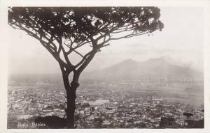 RP, Bird's Eye View, Naples (Campania), Italy, 1920-1940s