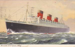 Cunard Line R M S Queen Mary 1957