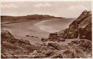 RP: ALDERNEY , Guernsey , 1957 ; Platte Saline & Fort Tourgis