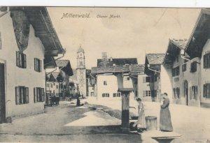 MITTENWALD , Germany, 1907 ; Oberer Markt