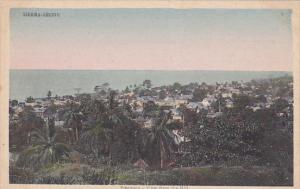 Freetown, View from Hill, Sierra Leone, 10-20s