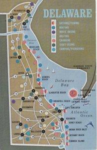 DELAWARE, 40-60s ; Map