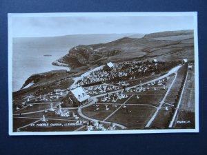 Wales LLANDUDNO St Tudno's Church c1923 RP Postcard by Valentine
