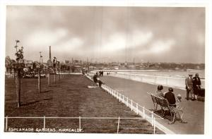 15159 Scotland   Kirk Caldy  1930's   Esplanade Gardens  Boardwalk  real...